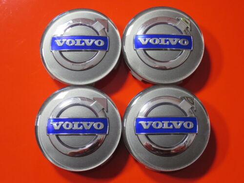 4 Nabendeckel//Radkappen für Alufelgen von Volvo #SET3#