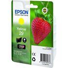 Genuine Epson 29 Yellow Cartridge Original T2984 Strawberry OEM Ink C13T29844010