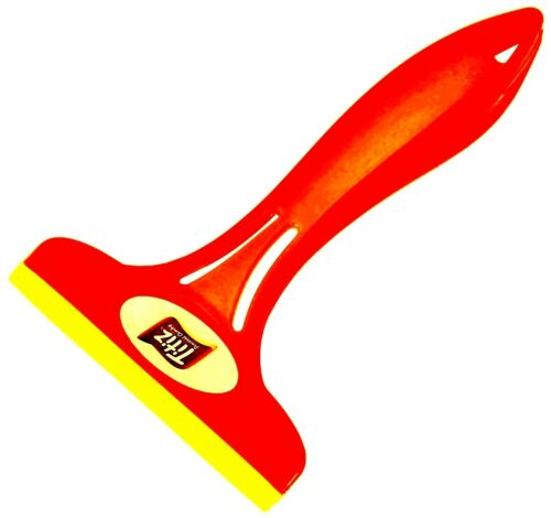 SQUEEGEE RED SMALL MINI HOME CAR GLASS LIGHTS WINDOW MIRROR WIPER SILICONE