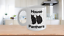 miniature 1 - Black-Cat-Mug-White-Coffee-Cup-Funny-Gift-for-House-Panthers-Owners-Lover-Rescue