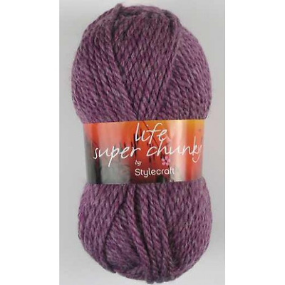 1 **STYLECRAFT WEEKENDER SUPER CHUNKY  100g Various Colours**