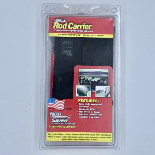 """40/"""" to 72/"""" Rod Saver VRC Vehicle Rod Carrier System Holds 7 Rods"""