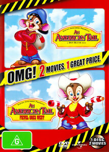 An-American-Tail-An-American-Tail-2-Fievel-Goes-West-NEW-DVD-REGION-4-Austral