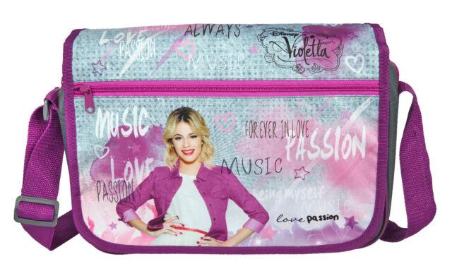 Schultertasche Umhängetasche Tasche Tragetasche Überschlagtasche Violetta lila