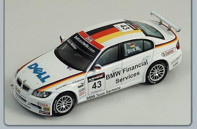 1 43 BMW 320 si  WTCC 2006   BMW Team Germany  Dirk Muller