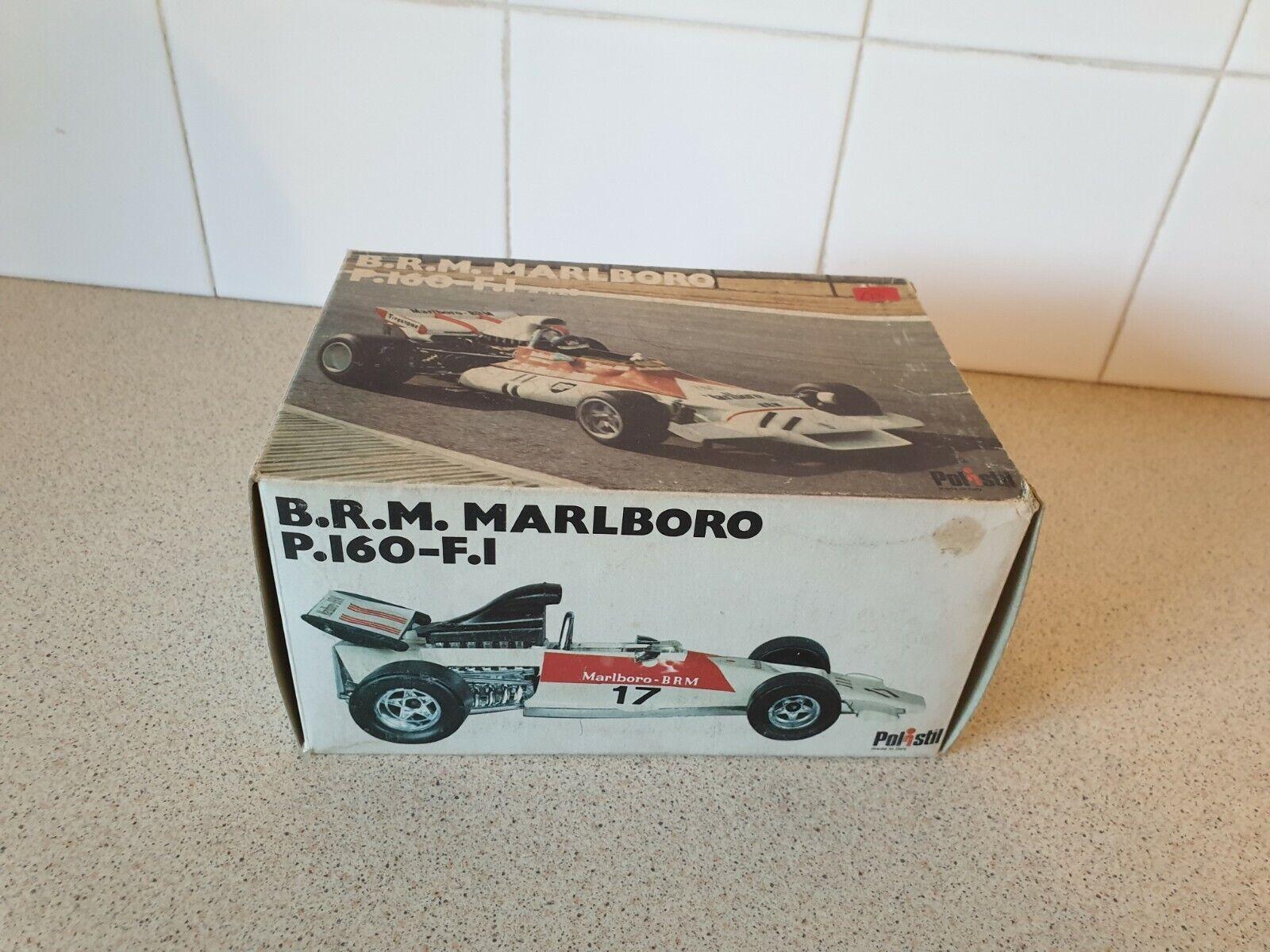 POLISTIL ITALY-B.R.M  MARLBor P160-Voiture F1-échelle 1 25 Modèle Jouet-FX4  grosses soldes