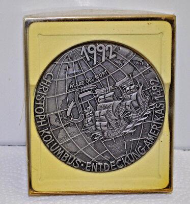 Buderus Wand Platte Relief Wandbild Gußeisen - Christoph Kolumbus - 1992 Produkte Werden Ohne EinschräNkungen Verkauft