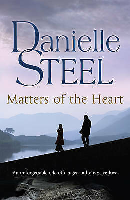 """""""AS NEW"""" Matters of the Heart, Steel, Danielle, Book"""
