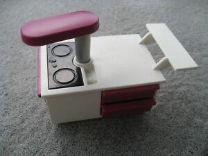 Details zu 5582 Playmobil® Ersatzteil zu Küche - Kücheninsel Ceranfeld  Kochfeld Küchenzeile