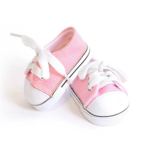 """Light Pink Tennis Shoe made for 18/"""" American Girl Doll Clothes"""