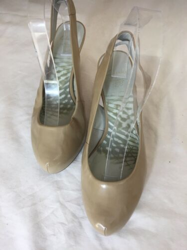 5 Back Patent Clarks Tamaño Nude Soft D Cushion s52 5 Leather Women Heels Sling ZHgg4PTyca