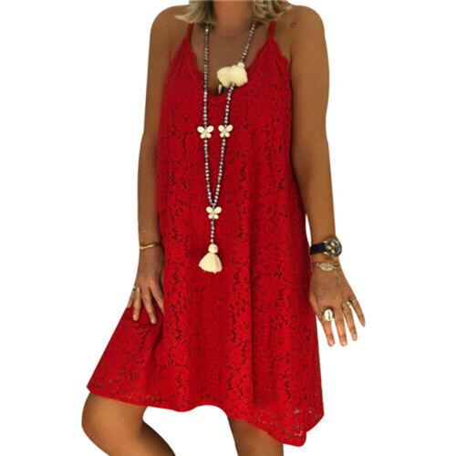 Fashion Women Ladies Boho Style Shirt Dress Dress