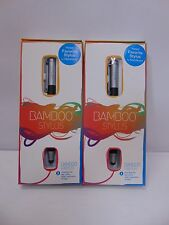 Lot of 2 NEW Wacom Bamboo Stylus solo (Black) CS100K for iPad/iPhone/Tablet