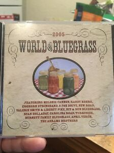 The-World-Of-Bluegrass-Various-Artists-Promo-CD-Rare
