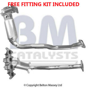 Ajuste-con-Fiat-Stilo-1-4i-16v-Convertidor-Catalitico-Kit-De-Montaje-De-Escape-91651H-Inc