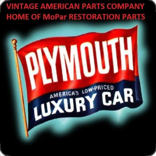 1953 1954 PLYMOUTH BRAND NEW CLUTCH AND BRAKE PEDAL RUBBER BLACK MOPAR 52 53 54