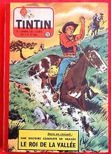 TINTIN Album 25 (n°357 à 369) 1955. Superbe état. Bien complet