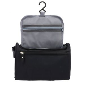 33e31e8216 Image is loading Toiletry-Bag-for-Men-Canvas-Dopp-Kit-for-