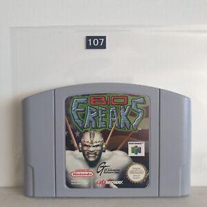 Bio Freaks Nintendo 64 N64 juego PAL Oz107