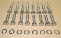 Chevy 1967-71 Bb 396 427 Stainless Steel Exhaust Manifold Bolt Kit