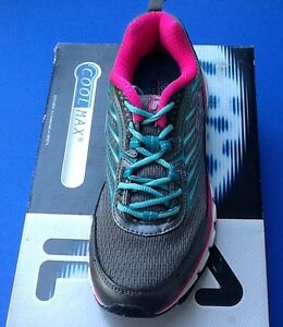 NEW-Womens-FILA-Forward-Size-7-5-Pink-Silver-Running-Fitness-Training-Shoes