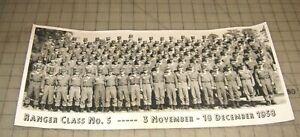 1958-US-Army-RANGER-CLASS-No-5-3-November-18-December-18-5-034-x-8-034-B-amp-W-Photo