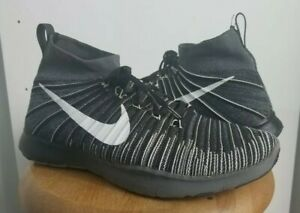5916bfe799a9 Nike Free Train Force Flyknit Oreo Men s Shoes Size US 14 833275 017 ...
