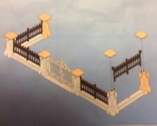 """Playmobil Victorian Dollhouse Mansion GATED FENCE ( from 5955 ) """" NEW """""""