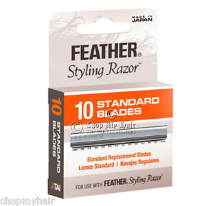 NEW-Jatai-Feather-Styling-Razor-Standard-Replacement-Blades-10pcs-F1-20-100