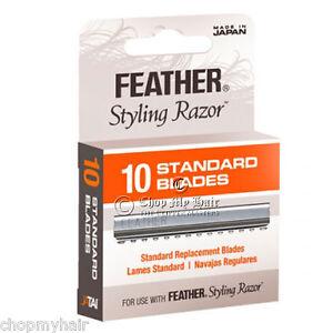 NEW-Jatai-Feather-Styling-Razor-Standard-Replacement-Blades-10pcs-F1-20-100