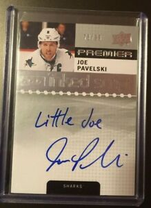 2016-17-Premier-Inked-Script-Joe-Pavelski-99-inscribed-Little-Joe