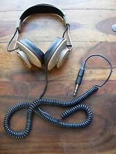 VINTAGE KOSS MODEL K/6XLC STEREO HEADPHONES WITH VOLUME CONTROL