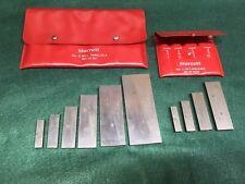 Starrett Adjustable Parallel Sets No S 154 S Amp S 154 L Range 38 2 14 Nice