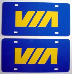 TWO-UNUSED-VIA-RAIL-AUTOPLATES