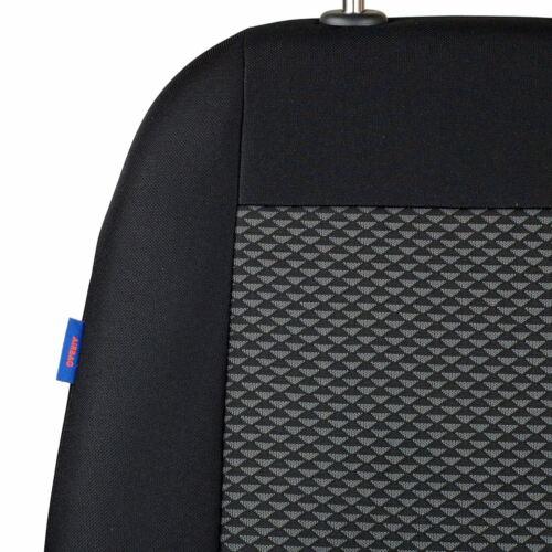 Schwarz-graue Dreiecke Sitzbezüge für NISSAN JUKE Autositzbezug Komplett