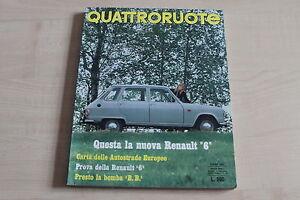 Quattroruote 06/1969 Renault R 6 164478
