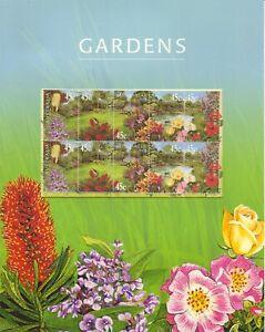 Australia-Post-Decimal-Mini-Sheet-2000-Gardens-in-Australia-MNH
