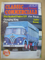 CLASSIC & VINTAGE COMMERCIALS MAGAZINE JULY 1998 RESTORED FODEN S21