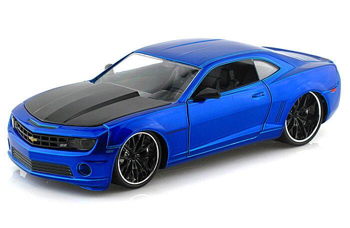 2010 Chevy Camaro SS LOPRO mit Satz Reifen Felgen 1 24 Jada Toys 54021 Chevrolet