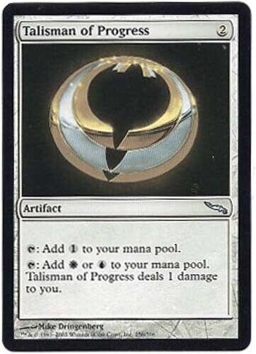 TALISMAN of PROGRESS X1  MAGIC Mtg  MIRRODIN NEAR MINT or BETTER!