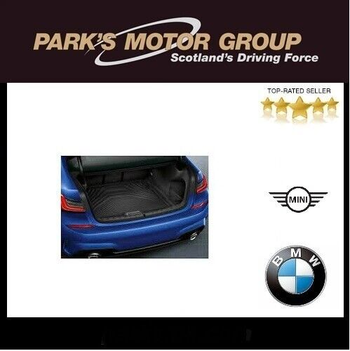 BMW 3 Series Saloon Rubber Tailored Car Mats and Bootmat 2012 Onwards