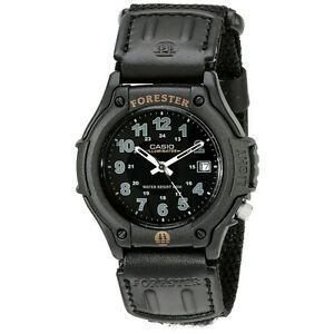 Casio FT500WC/1BVER Forester Watch with Analogue Display - Black