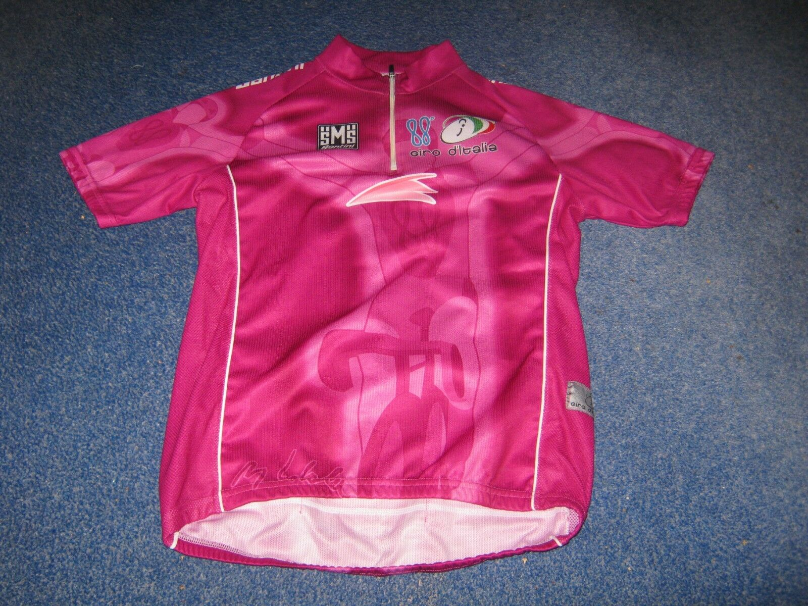 GIRO D'ITALIA TOUR TOUR TOUR OF ITALY 2005 SANTINI CICLAMINO CYCLING JERSEY 0b6b5f