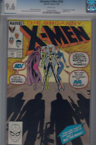 UNCANNY-X-MEN-244-May-1989-CGC-9-6-NM-WP-1st-JUBILEE-Jubilation-Lee