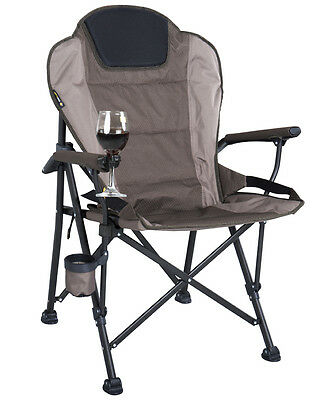 OZTRAIL RV (JUMBO) 200kg LIMIT CHAIR PORTABLE CAMPING OUTDOOR SEAT