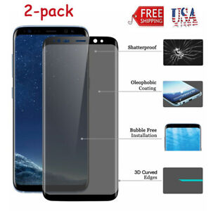 2-pack-Full-Tempered-Glass-Screen-Protector-for-Samsung-Galaxy-S8-Plus-S9-plus