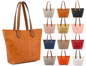 Womans-New-Tote-Bag-Shoulder-Bag-Handbag-Casual-Smart-Shopper-Everyday-Bag-Cheap
