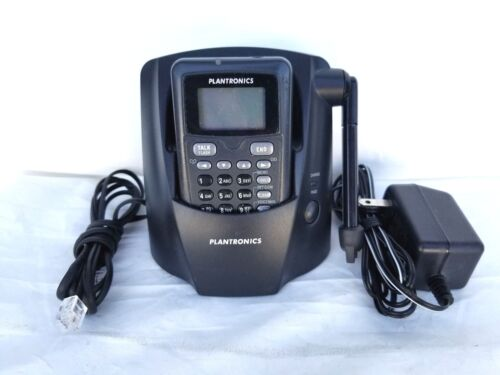 Plantronics CT14 DECT CORDLESS HEADSET PHONE WITH MAIN BASE AND AC