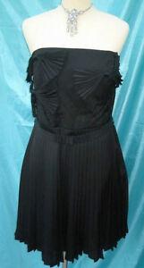 Coast-Black-Evening-Party-Cocktail-Dress-sizes-16-18-BNWT