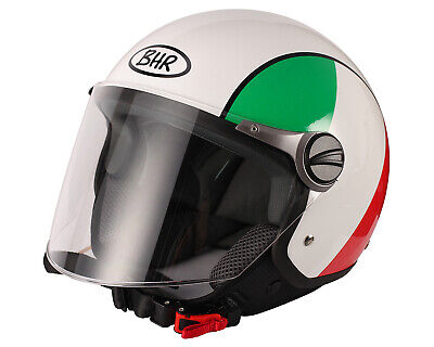 BHR DEMI-JET MOTORRADHELM MODELL SPECIAL 710 FARBE ITALIENS GR/Ö/ßE XL